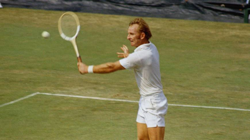 Greatness defined: Rod Laver won the Grand Slam in both 1962 and 1969. Nearly 45 years later, the Australian's feat has never been equalled even once.