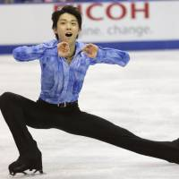 Chan leads Oda, Hanyu; Suzuki third after short