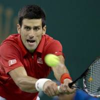 Djokovic maintains mastery over Tsonga, books spot in Shanghai Masters final