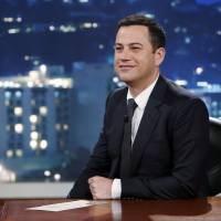 Killer show: Jimmy Kimmel hosts 'Jimmy Kimmel Live' on July 3. ABC has apologized for a segment of the show in which a child joked that killing all Chinese would be the best way of erasing U.S. debt to China | AP