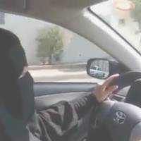 The wheel deal: A video uploaded by Saudi activists to YouTube on Saturday shows a woman driving in Riyadh in defiance of the ban on women driving | AFP-JIJI