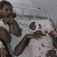 Bomb blasts kill five at Indian opposition rally