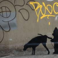 Banksy goes on daily graffiti streak in New York