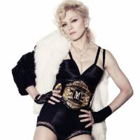 Rape survivor: Madonna poses in a promotion shot for her CD 'Hard Candy' in 2008. | BLOOMBERG
