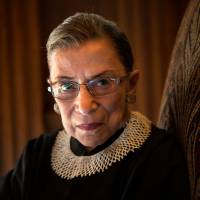 Ruthless?: Supreme Court Justice Ruth Bader Ginsburg joined the nation's top court in 1993. Now 80, she hears the calls to step aside, but says she isn't ready. | THE WASHINGTON POST