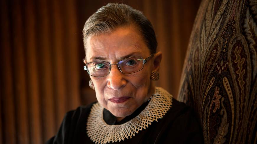 Ruthless?: Supreme Court Justice Ruth Bader Ginsburg joined the nation's top court in 1993. Now 80, she hears the calls to step aside, but says she isn't ready.