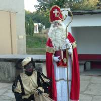St. Nick's blackface helper protested