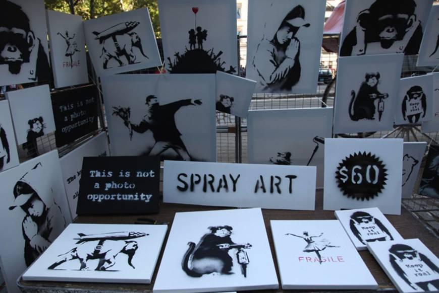 Banksy bargains