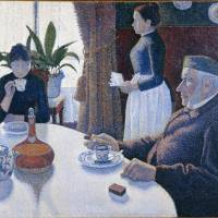 Uncomfortable pointilism: Paul Signac's 'The Dining Room, Opus 152' (1886-7) | © COLLECTION KROLLER-MULLER MUSEUM, OTTERLO, THE NETHERLANDS