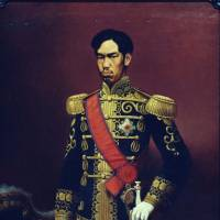 'Emperor Meiji' (1880) by Takahashi Yuichi | GYOBUTSU- IMPERIAL COLLECTION (IMPERIAL PROPERTIES)