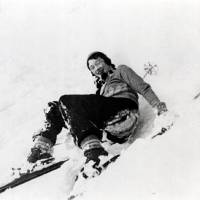 Happy trails: Rita in Hokkaido in the 1930s. | COURTESY OF NIKKA WHISKY / ASAHI BREWERIES