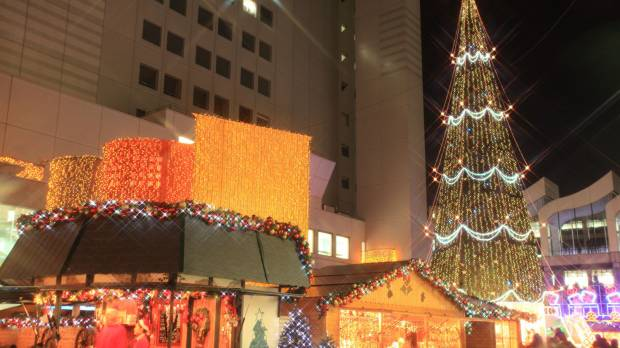 An early Christmas in Osaka
