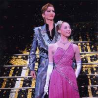 Top stars, Kazuho So (left) and Ayu Manaka, in  'Congratulations Takarazuka!!' | © TAKARAZUKA REVUE COMPANY
