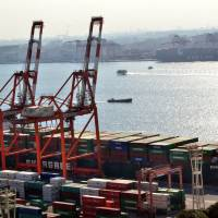 Key trade gauge logs surprise rise in half