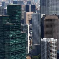 Office vacancies in Tokyo decline to the lowest level since June 2009
