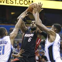 Heat win big against Magic
