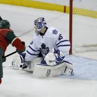 Wild beat Maple Leafs in shootout