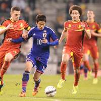 Belgian tour provides welcome tonic for Japan