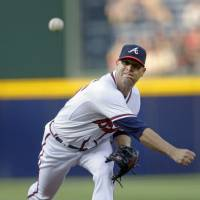 Impressive record: Free agent Tim Hudson, who pitched for the Atlanta Braves for nine seasons, has finalized a two-year deal with the San Francisco Giants. | AP