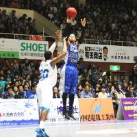 Given the boot: Forward Thomas Kennedy, Shimane's leading scorer, was released this week as the 1-9 Susanoo Magic look to regroup | SHOGO OKAMOTO