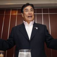 Ideal boss: Masato Mizuno, who has had a long involvement in the Olympic movement, possesses the credentials and charisma for the local organizing committee's top position for the 2020 Tokyo Olympic Games. | AP