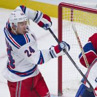 Rangers shut out Canadiens