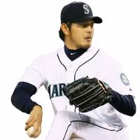 Hisashi Iwakuma was forced to return to Japan after a failed posting in 2010. | KYODO