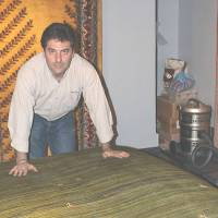 Iranian nomads' Gabbeh carpets all the rage in Japan