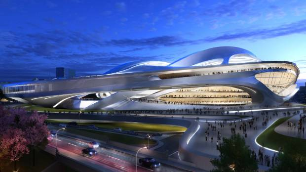 National Stadium plan hit as too grandiose