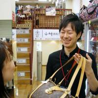 Manager of secondhand shop Tifana gives fashion items new life