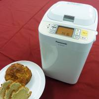 Piece of cake: Panasonic Corp.'s new bread maker can bake scones from soybean flour. | KYODO