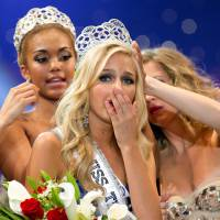 Man admits 'sextortion' of U.S. beauty queen