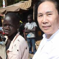 China-born contestant running in Malian poll