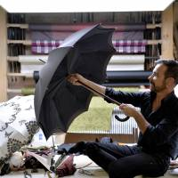 Paris umbrella maker creates objects to last
