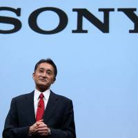 Taking action: Kazuo Hirai, president and CEO of Sony Corp., attends a news conference in Tokyo in May. | BLOOMBERG