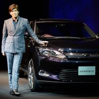 Toyota unveils revamped Harrier