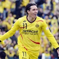Straight talk: Kashiwa Reysol striker Cleo says the Asian Champions League schedule made it tough on his side in the J. League this season. | KYODO