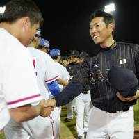 Kokubo gets started in Japan dugout with one eye on future