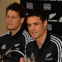 All Black legends Carter, McCaw to face Japan