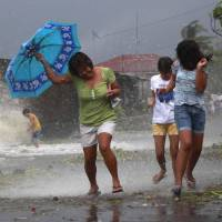 Massive Philippine typhoon leaves over 100 dead