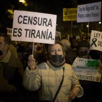 Spain to muzzle economic protests