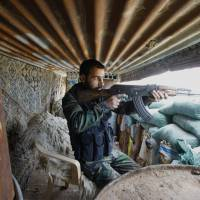 Fierce fighting in Damascus suburbs leaves at least 160 dead