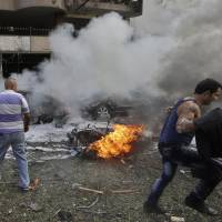 Suicide blasts near Iran Embassy in Beirut kill 23