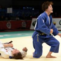Japan dominates on Tokyo Grand Slam judo opening day