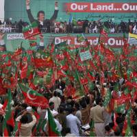 Pakistani protesters search for NATO supply trucks to harass