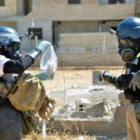 U.S. offers to destroy Syrian chemical arms at sea