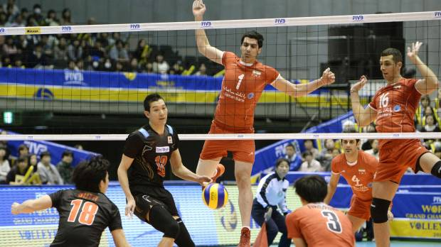 Japan falls to Iran; Brazil wins Grand Champions Cup volleyball