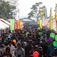 Head count: The Iki Iki Festa Tako 2013 of local produce, draw in crowds of visitors