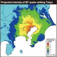 Up to 23,000 may die in major Tokyo inland quake: government prediction