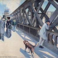 Old, modern Paris: 'The Pont de l'Europe' (1876), Association amis du Petit Palais | © ASSOCIATION DES AMIS DU PETIT PALAIS, GENEVE